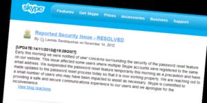 Skype soluciona grave vulnerabilidad
